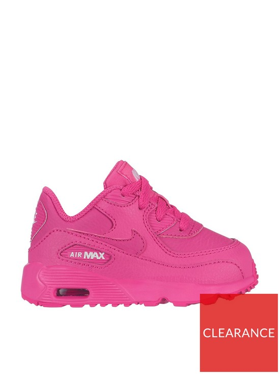 timeless design ee3d0 cb84f Air Max 90 Ltr Gt Infant Trainers - Pink