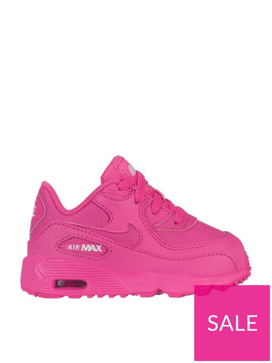 the best attitude ee7f9 36175 Nike Air Max 90 Ltr Gt Infant Trainers - Pink