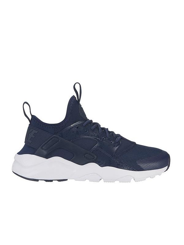 limited guantity fast delivery reputable site Nike Air Huarache Run Ultra Junior Trainers - Navy | very.co.uk