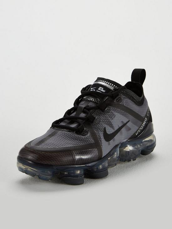 80d7ab054d Nike VaporMax 2019 Junior Trainers - Black | very.co.uk