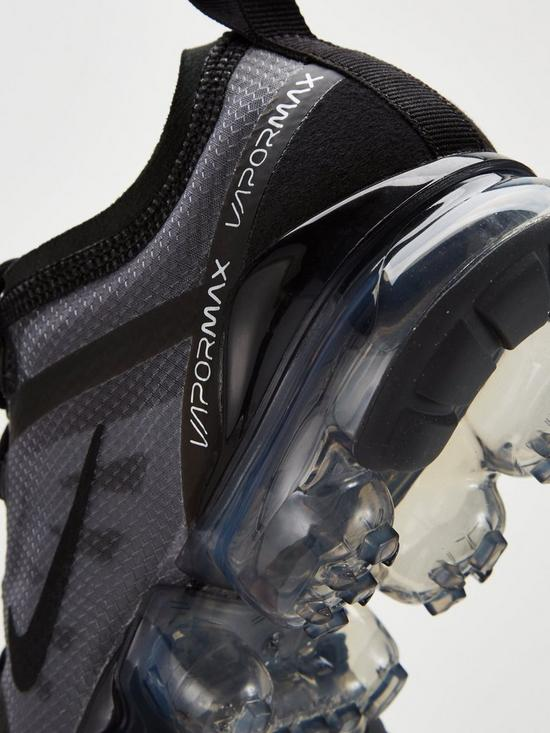 61d3e3b37975a ... Nike VaporMax 2019 Junior Trainers - Black. View larger