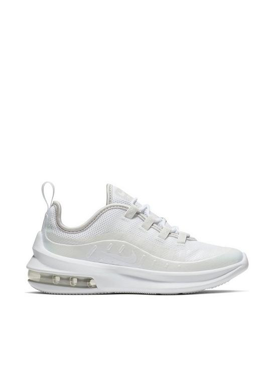2fae4eecef Nike Air Max Axis Childrens Trainers - White/Iridescent | very.co.uk