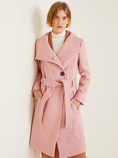 mango-premium-funnel-wrap-coat-pinknbsp