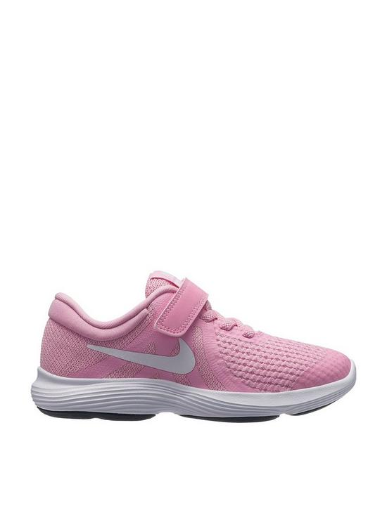 ab5b949669f Nike Revolution 4 Childrens Trainers - Pink