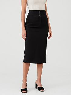v-by-very-the-workwear-midi-skirt-black