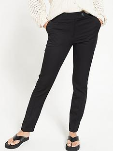 e54631905db V by Very The Slim Leg Trouser - Black