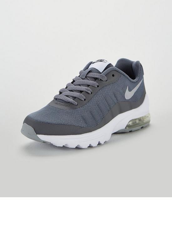 super popular 9d5a2 b4f59 Nike Air Max Invigor Junior Trainers - Grey