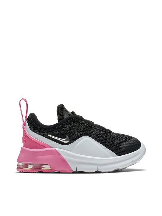 7bdb2b7a6 Nike Air Max Motion 2 Infant Trainers - Black Pink