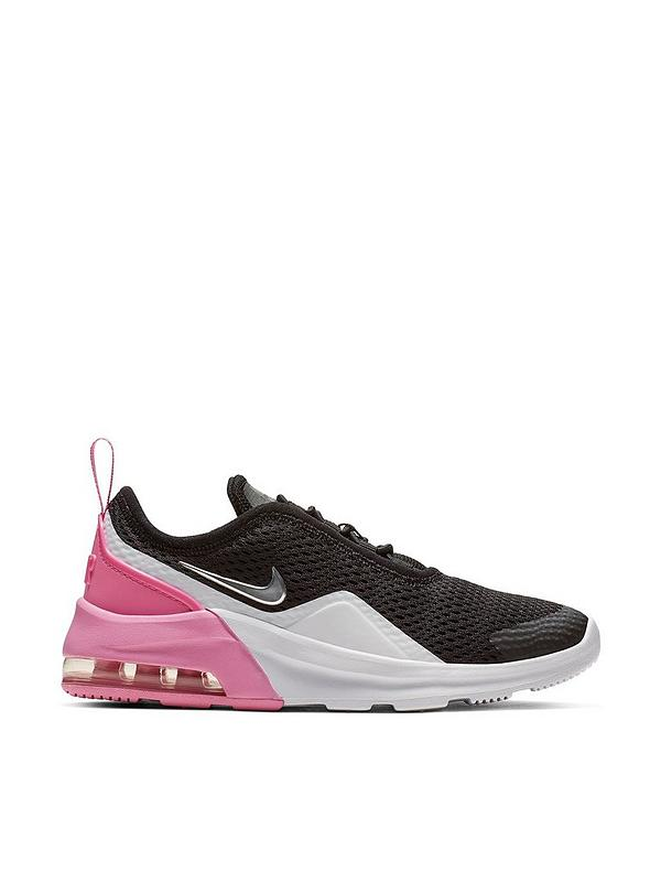 14b4509efd325 Nike Air Max Motion 2 Childrens Trainers - Black/White/Pink | very.co.uk