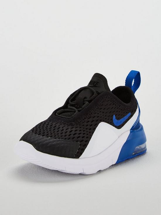 f2f8b38e2 Nike Air Max Motion 2 Infant Trainers - Black Blue