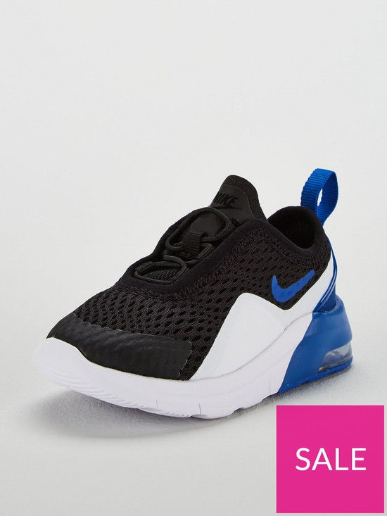 f74dfbcc35 Nike Air Max Motion 2 Infant Trainers - Black/Blue | very.co.uk