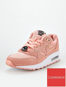 nike-air-max-1-junior-trainers-pink