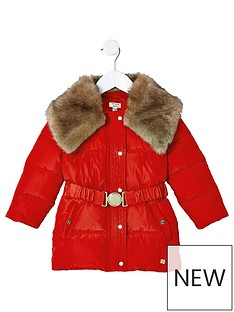 river-island-mini-girls-red-faux-fur-collar-belted-coat
