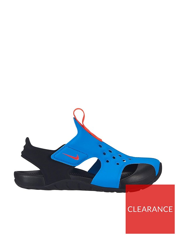 valor Email Rendición  Nike Sunray Protect 2 Childrens Sandal - Blue/Black   very.co.uk