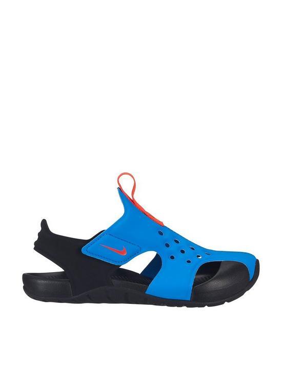 Nike Sunray Protect 2 Childrens Sandal - Blue Black  a92cd3a54435c