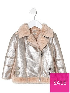 river-island-mini-girls-metallic-faux-fur-aviator-jacket