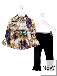 river-island-mini-girls-printed-blouse-and-frill-trouser-set