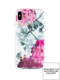 6a980fdd9 Ted Baker Ted Baker Anti Shock case iPhone XS Max OLED - BABYLON NICKEL