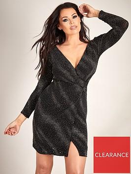 sistaglam-loves-jessica-lurex-bodycon-wrap-dress-blacksilver