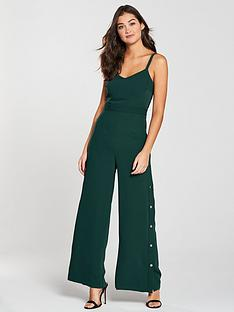 river-island-river-island-popper-side-jumpsuit-green