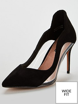 lost-ink-wide-fitnbspannie-mixed-material-mid-heel-court