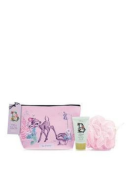 disney-disney-bambi-body-wash-and-bath-puff-wash-bag-set