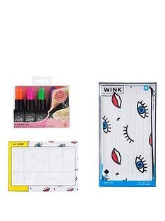 mustard-wink-planner-pencil-case-lippy-markers