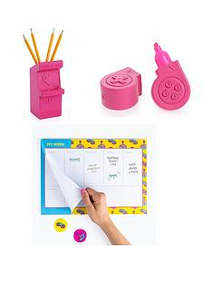 mustard-power-up-notebook-and-highlighter-set
