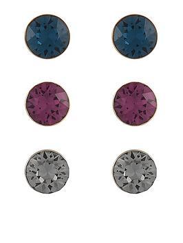 accessorize-3x-swarovski-stud-set-earrings