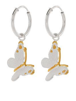 accessorize-nbspsterling-silver-bella-butterfly-sleeper-hoop-earrings-silvernbsp