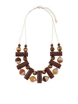 accessorize-accessorize-mocha-resin-statement-necklace