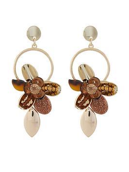 accessorize-70s-flower-earrings