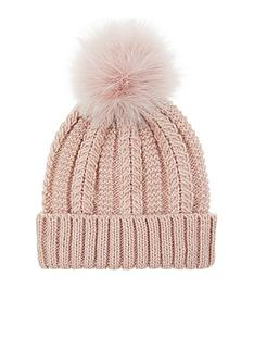 accessorize-luxe-pom-beanie-hat-pale-pink