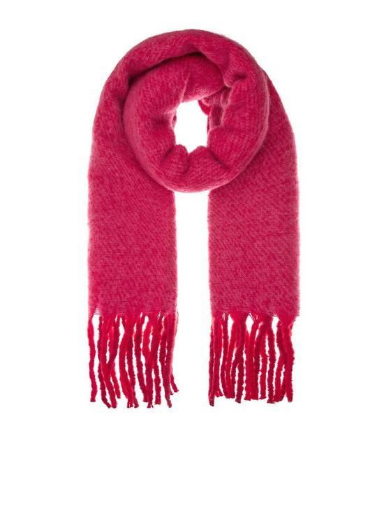 5723364e1f Accessorize Super Fluffy Scarf - Pink