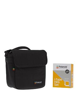polaroid-originals-essential-bundle-1-x-film-set-1-x-bampw-1-x-colour-i-type-film-amp-black-polaroid-originals-camera-bag