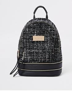 river-island-boucle-mini-backpack