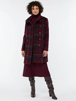monsoon-louis-check-coat-red