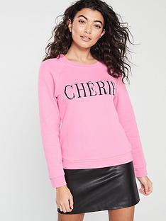 whistles-cherie-embroiderednbspsweat-shirt-pink