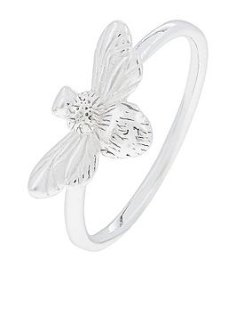 accessorize-sterling-silver-botanical-bee-ring