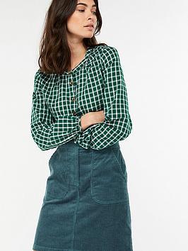 Monsoon Coira Check Shirt - Green