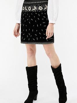 monsoon-victoria-velvet-embroidered-skirt-blacknbsp