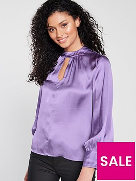 whistles-cora-satin-blouse