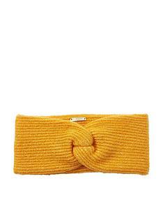 river-island-twist-headband-yellow