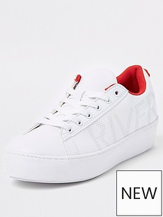 river-island-lace-up-trainer-white