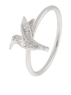 accessorize-sterling-silver-hummingbird-ring-ndash-silver-toned