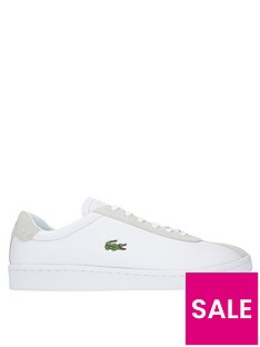 30027b44753a92 Lacoste Masters Trainers - White