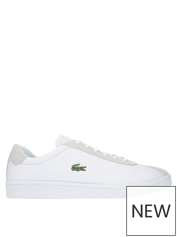 95be08a229 Lacoste Masters 119 2 SMA Trainers - White | very.co.uk