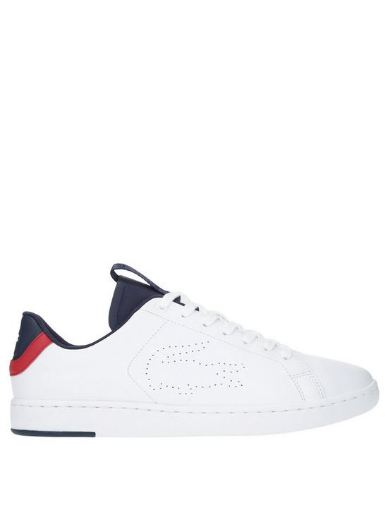 21cee4686 Lacoste Carnaby Evo Lightweight Trainers - White