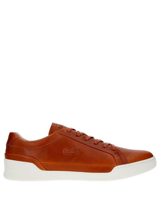 8ddcdb0f4 Lacoste Challenge Trainers - Brown