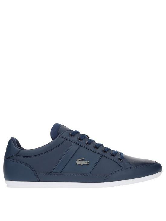 7e4f4165dbbd Lacoste Chaymon Trainers - Navy